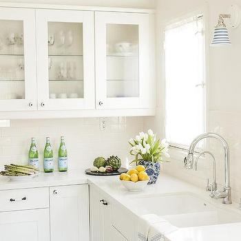 Vintage Glass Door Kitchen Cabinet Doors Design Ideas