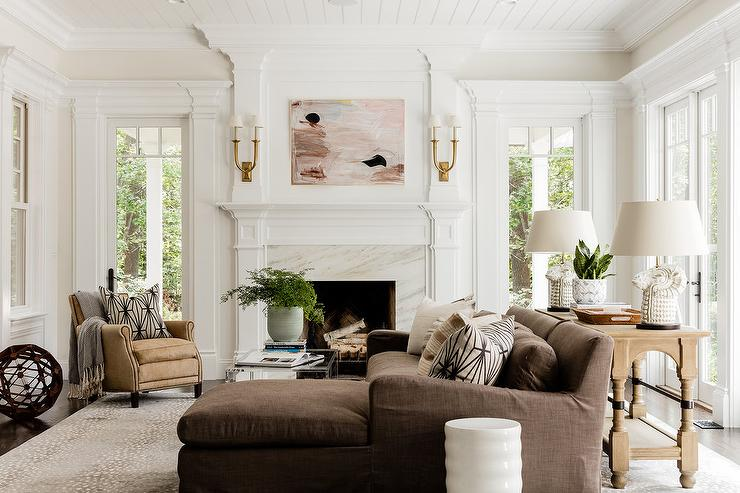 Terrific Brown Sectional Design Ideas Home Interior And Landscaping Ologienasavecom