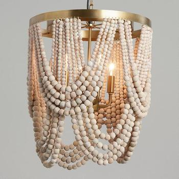 white wood bead chandelier look 4 less and steals and dealsworld market whitewash wood draped bead 4 light chandelier view full size