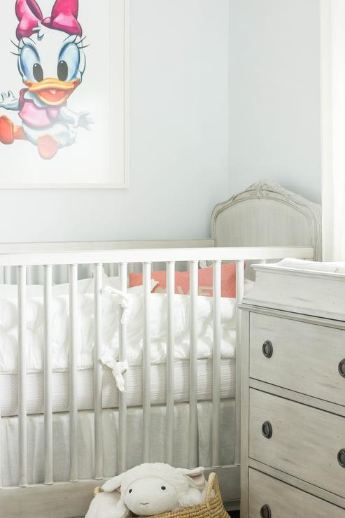 mickey mouse bathroom decorating ideas home and garden ideas.htm gray french nursery crib with minnie mouse art transitional  nursery crib with minnie mouse art