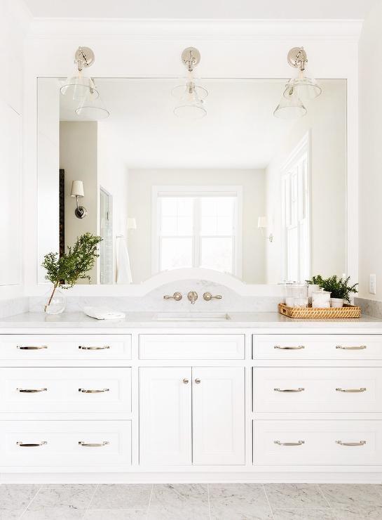 2 Pulls On Bath Vanity Drawers Transitional Bathroom