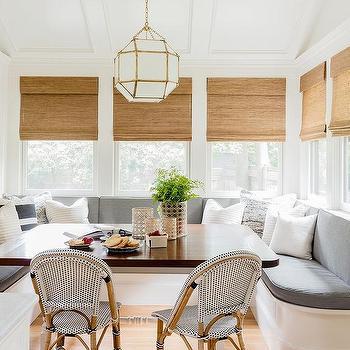 Built In Banquette Nook Cottage Kitchen
