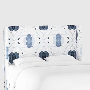 Upholstered Queen Headboard Wisteria
