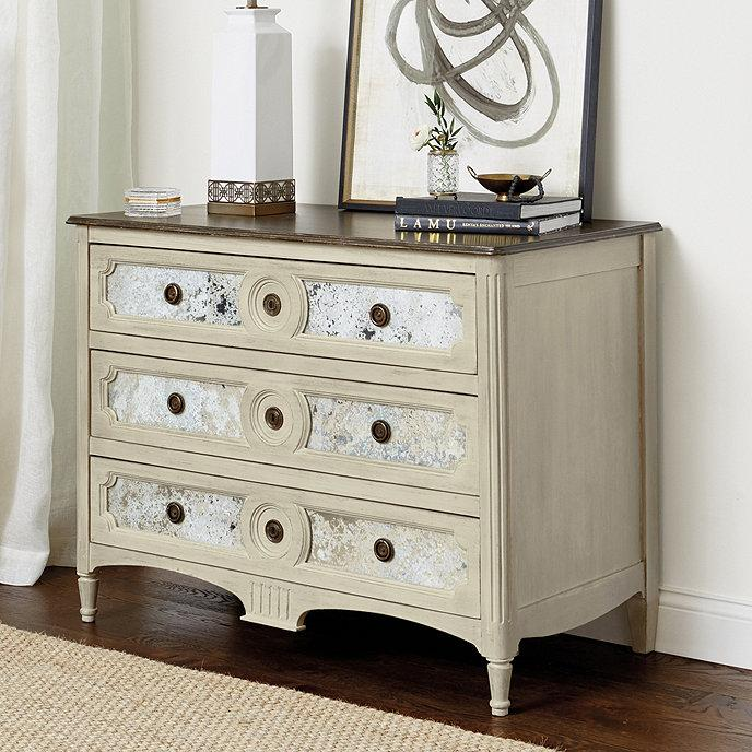 Z Gallerie Simplicity Mirrored 9 Drawer Dresser
