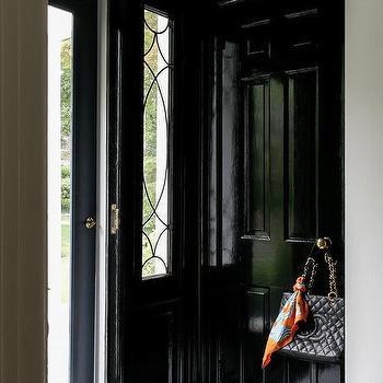 Black Entrance Doors Design Ideas