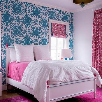 China Seas Girls Bedroom Wallpaper Design Ideas