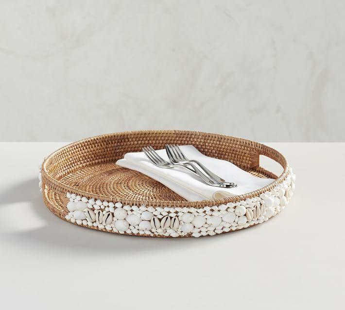 small woven wall hanging woven tray decorative woven wall.htm round shell rimmed woven rattan tray  round shell rimmed woven rattan tray