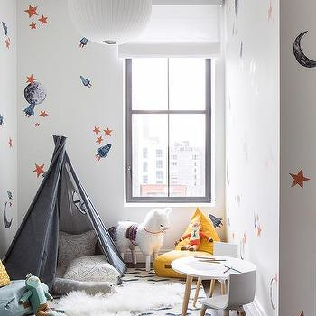 Kids Galaxy Theme Bedroom Design Ideas