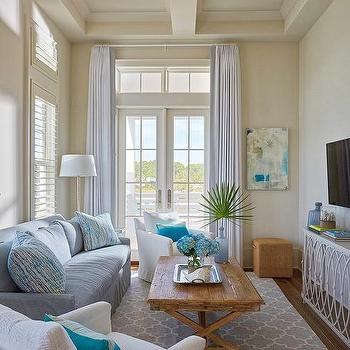 Long Cottage Style Living Room Design Design Ideas