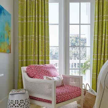 Lime Green Girls Bedroom Design Ideas