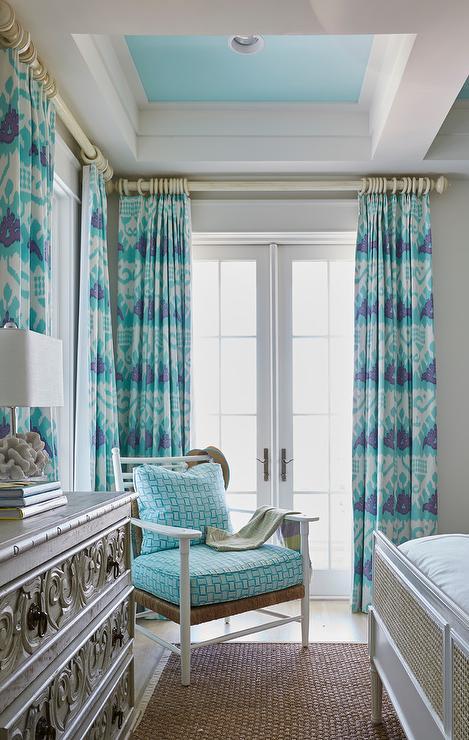 Turquoise Ceiling Design Ideas