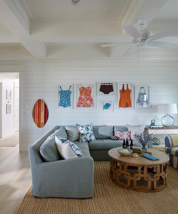 Shiplap Living Room Backsplash Design Ideas