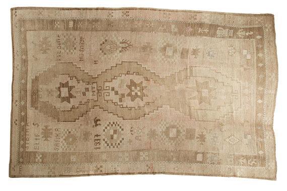 Andalusia Brown Medallion Print Rug
