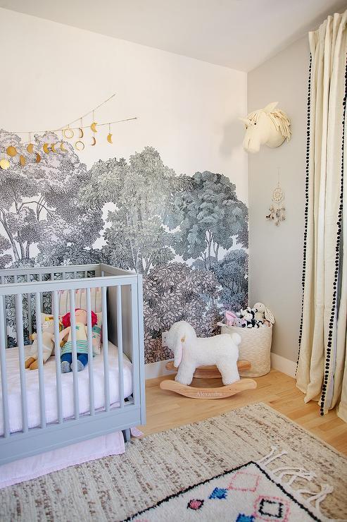 Whimsical Forest Nursery Design Ideas