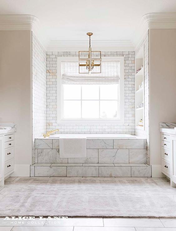 Marble Steps To Bathtub