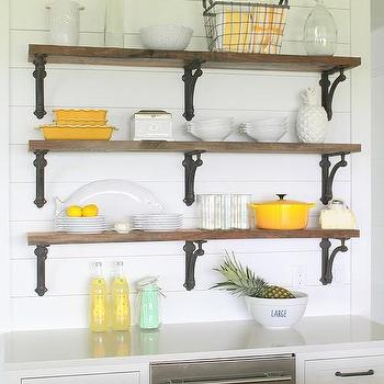 Wrought Iron Kitchen Shelf Brackets Design Ideas
