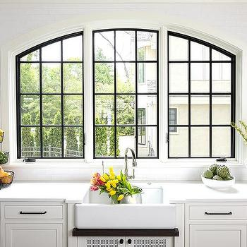 Arched Kitchen Windows Design Ideas