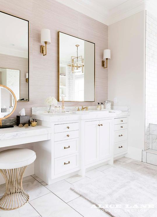 20 best bathroom quartz countertops mages on pnterest.htm white and gray bathroom with makeup vanity transitional bathroom  gray bathroom with makeup vanity