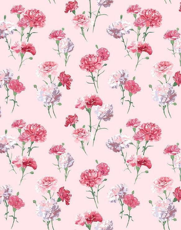 Mamas Favorite Pink Flowers Wallpaper