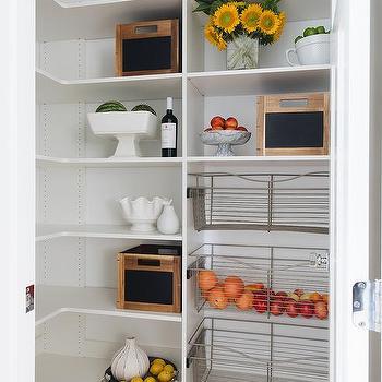 Modular Pantry Shelves Design Ideas