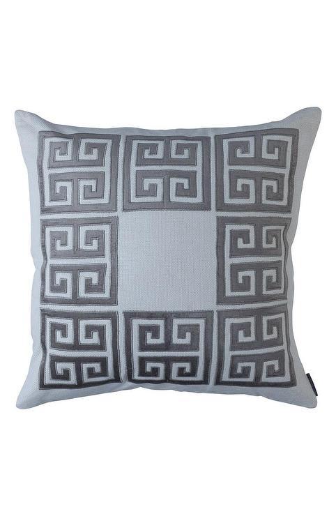 Fieldcrest Luxury Oblong Decorative Pillow Gray I Target