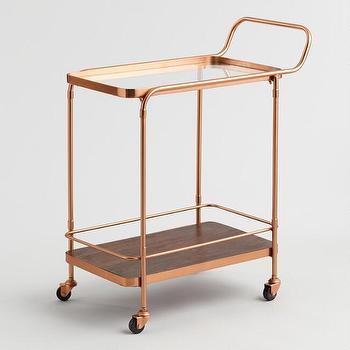 gold bar cart look 4 less and steals and deals. Black Bedroom Furniture Sets. Home Design Ideas