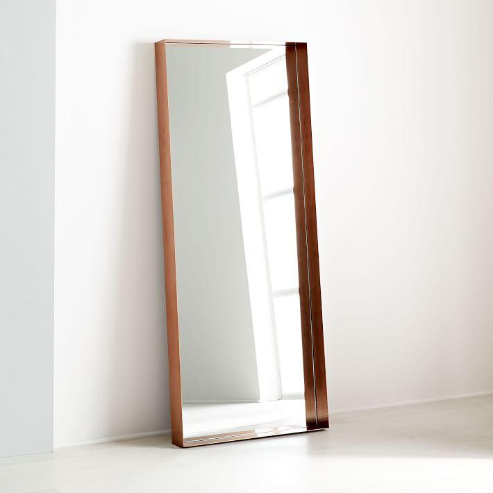 Mirrors Luminous Metal Floor Mirror