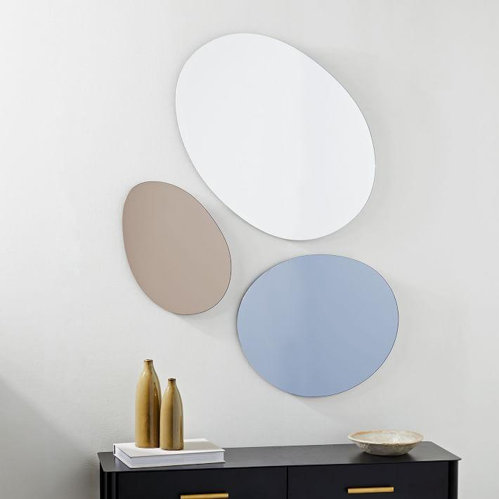 Set Of 2 Quatrefoil Mirrors Swatches Ballard Designs