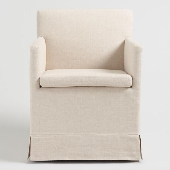 Armchair On Casters