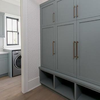 Floor To Ceiling Mudroom Cabinets Design Ideas