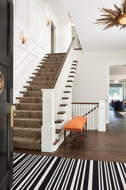 Staircase Wainscoting Design Ideas