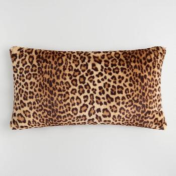 Print Leopard Beige Rug