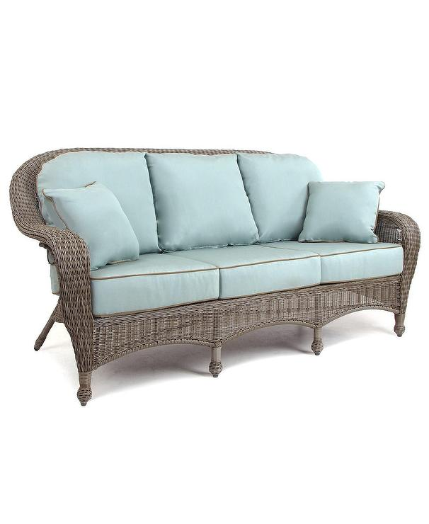 Arden Outdoor Outdoor Wicker Chair Cushion Pisa Cocoa