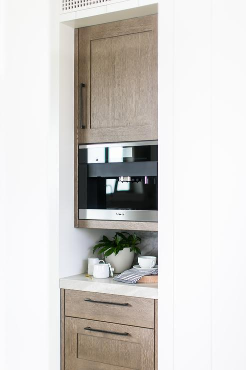 Kitchen Nook With Built In Miele Coffee Machine