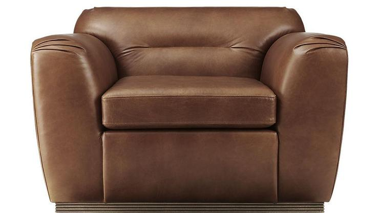 Fabulous Clive Pleated Saddle Leather Armchair Forskolin Free Trial Chair Design Images Forskolin Free Trialorg