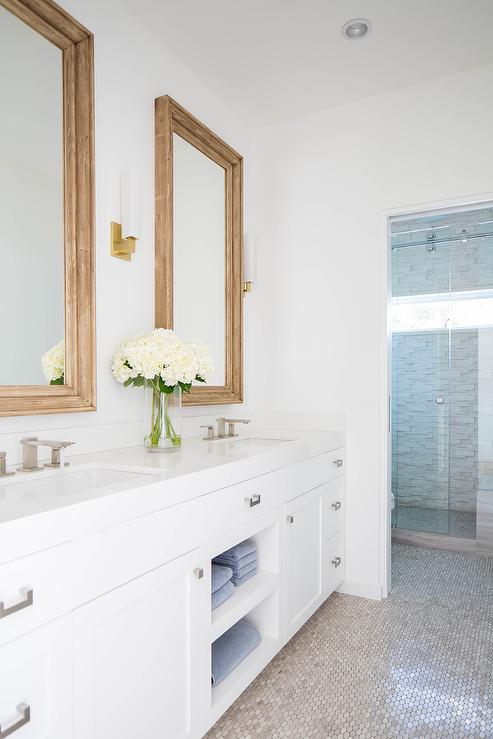 Master Bath Wood Vanity