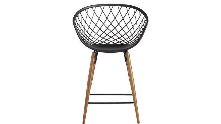 Remarkable Sidera Molded Black Crosshatch Plastic Bar Stool Spiritservingveterans Wood Chair Design Ideas Spiritservingveteransorg