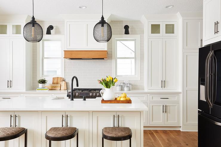 Black Kitchen Hood Design Ideas
