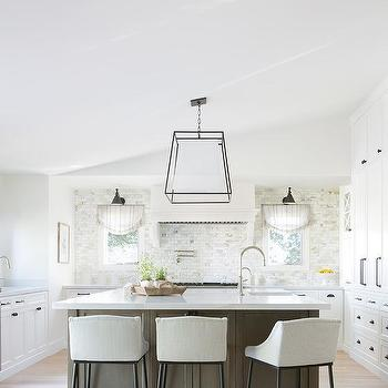 Gray And Brown Kitchen Design Design Ideas