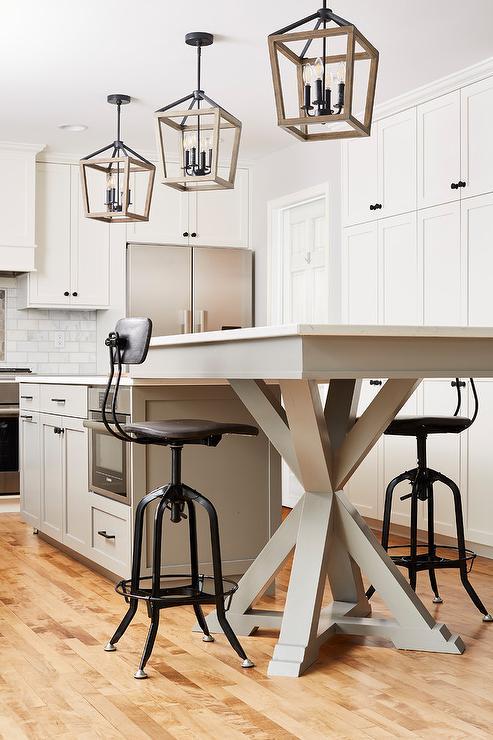 Dining Table Next To Kitchen Island Design Ideas