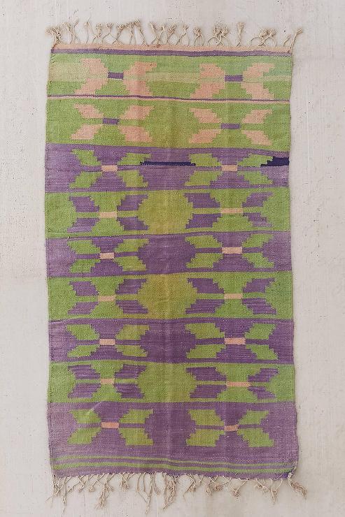 Intervals Purple Handmade Rug Lampsplus Com