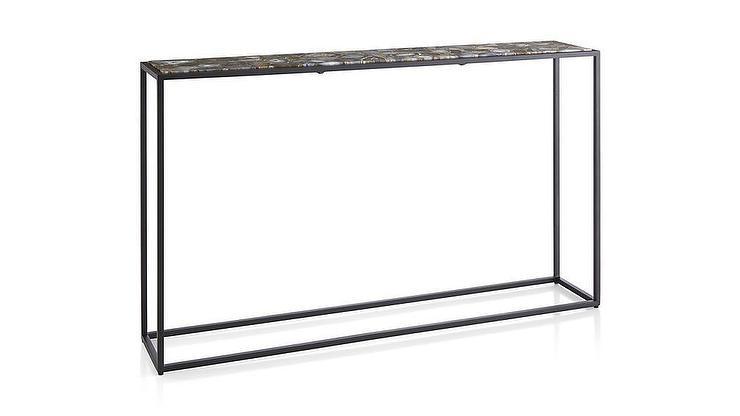 framed agate slices.htm mix agate black metal frame console table  mix agate black metal frame console table