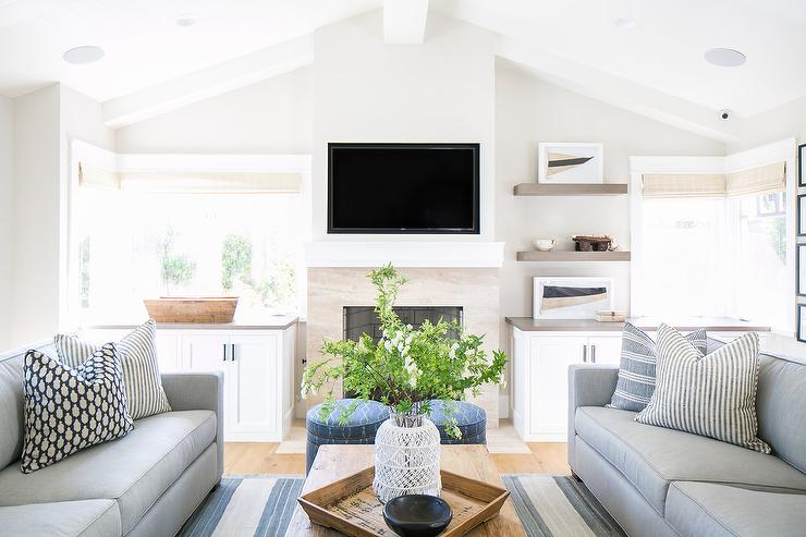 Vaulted Ceiling Living Room Coffee Tables