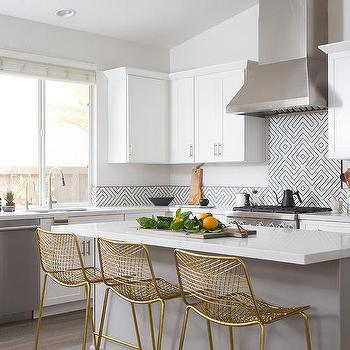 Cb2 Brass Kitchen Counter Stools Design Ideas
