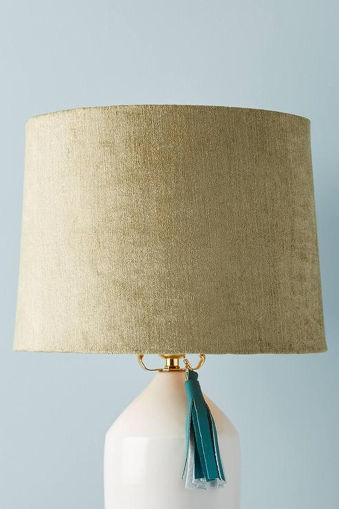 Nate Berkus Blue Lamp Shade
