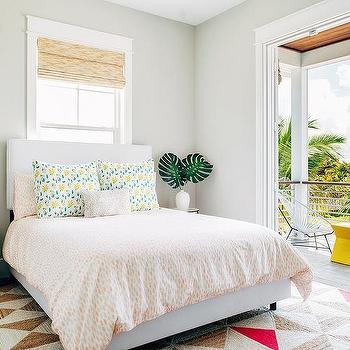 Light Gray Bedroom Wall Paint Design Ideas