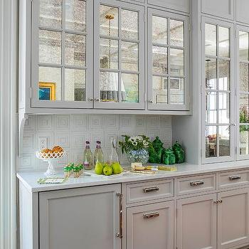 Antique Mirrored Cabinet Doors Design Ideas