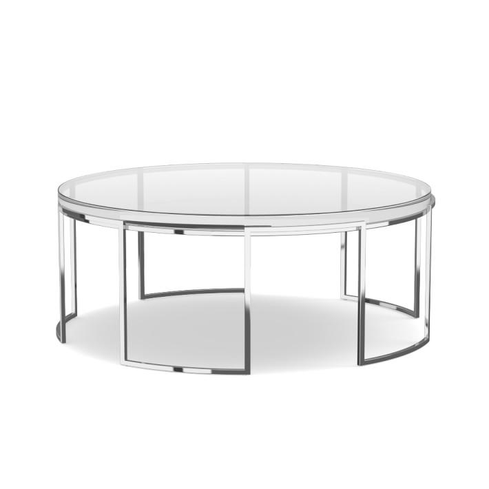 Argent Cocktail Table I High Fashion Home