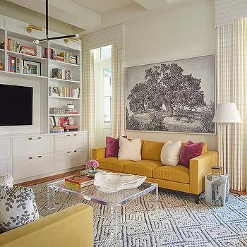 Mustard Yellow Sofa Design Ideas