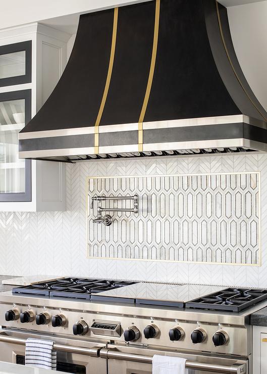 Herringbone Accent Tile Design Ideas